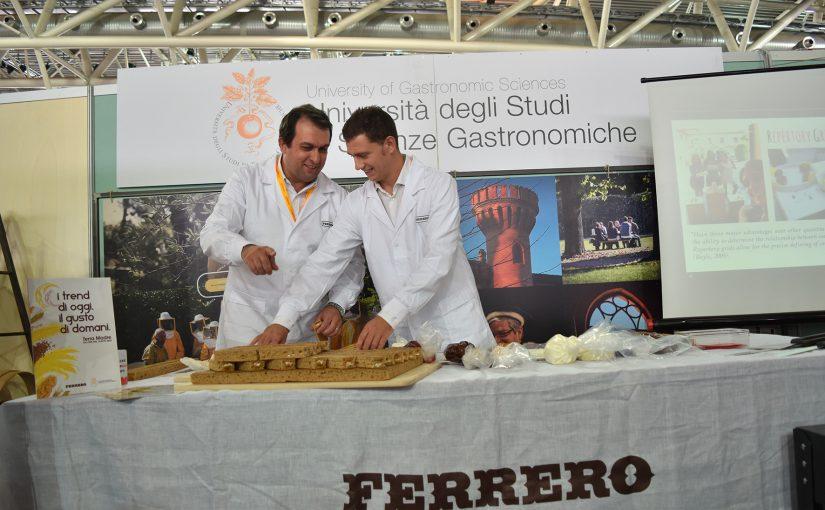 FERRERO LANCIA UNA SFIDA, GLI STUDENTI DELL'UNIVERSITA' DI SCIENZE GASTRONOMICHE DI POLLENZO RISPONDONO!