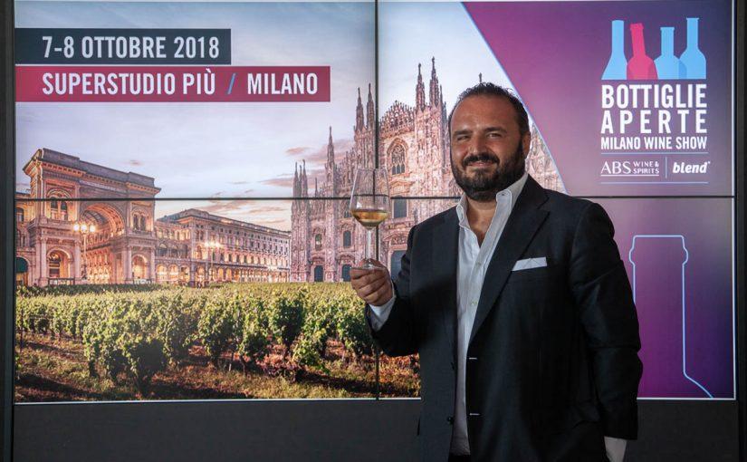"""BOTTIGLIE APERTE 2018   """"Il Vino tra Innovazione e Design in scena a Milano"""""""