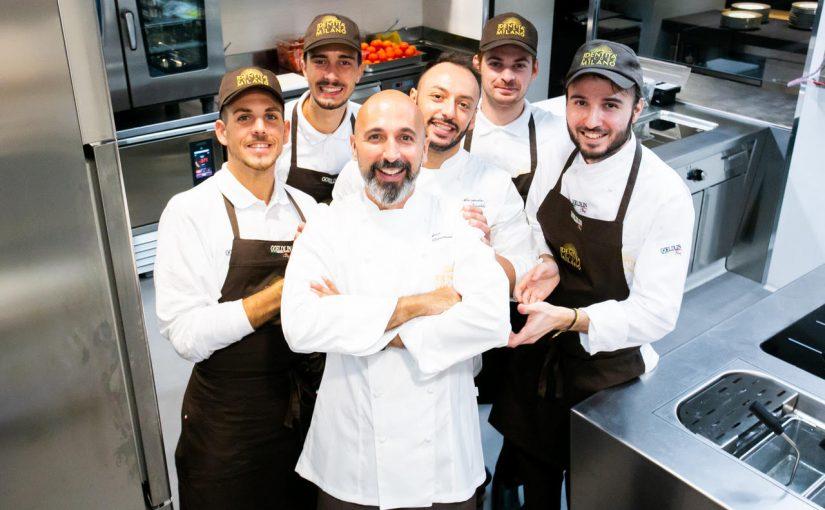 Lo chef Andrea Ribaldone protagonista da oggi a Identità Golose Milano con Antonello Colonna