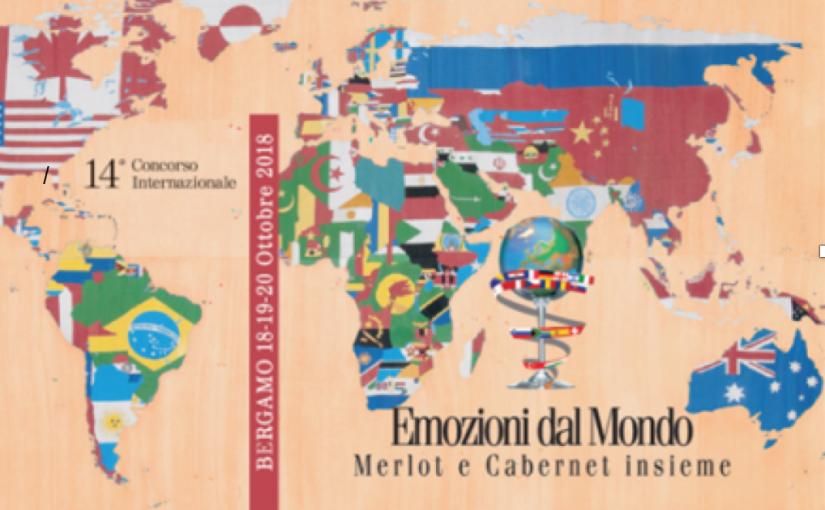 """14° edizione del Concorso Enologico Internazionale """"Emozioni dal Mondo Merlot e Cabernet Insieme""""."""