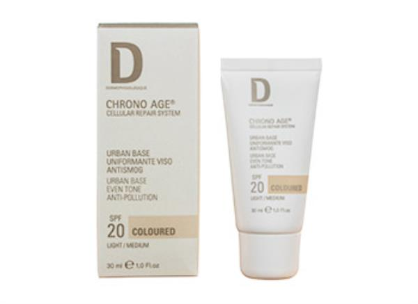 Dermophisiologique Chrono Age Urban Base Coloured antismog SPF 20