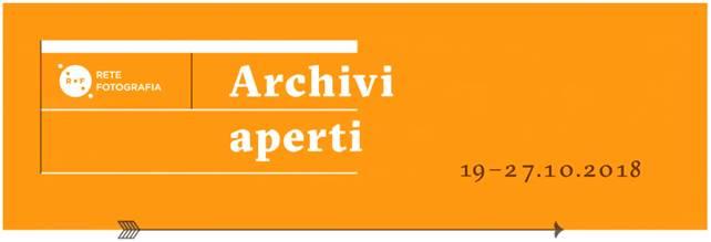4° EDIZIONE SETTIMANA 'ARCHIVI APERTI' Visite guidate al Civico Archivio Fotografico