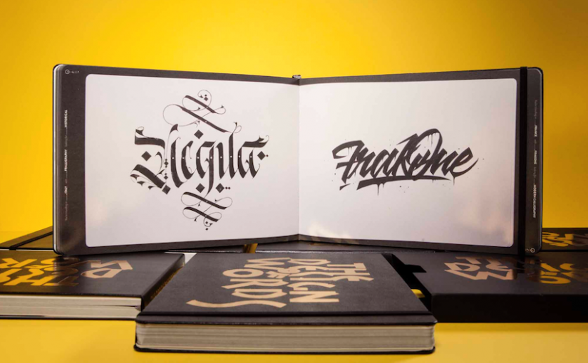 Moleskine celebra l'antica arte della calligrafia con il libro The Design of Words