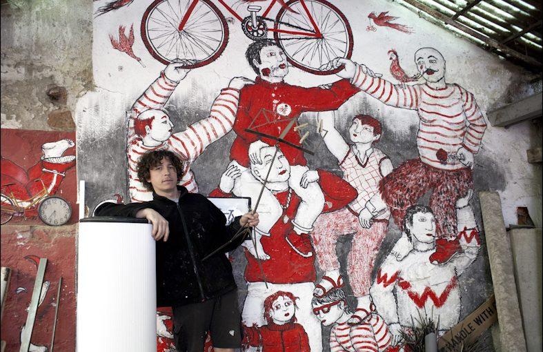 "Baleri Italia  ""In Cartoons"" di Lucia BaldiniRefin Studio Milano"
