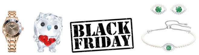 Il Black Friday e il Cyber Monday tornano piu' brillanti che mai con Swarovski!
