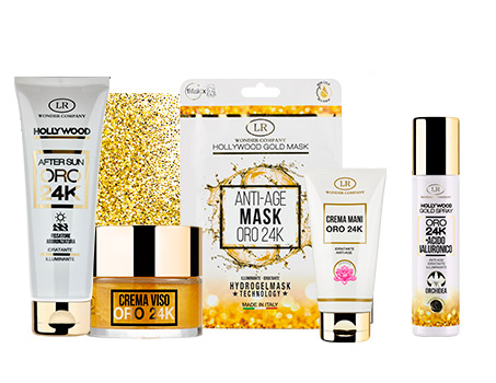 Linea Hollywood Gold LR Wonder Company: Lusso Hollywoodiano per la pelle