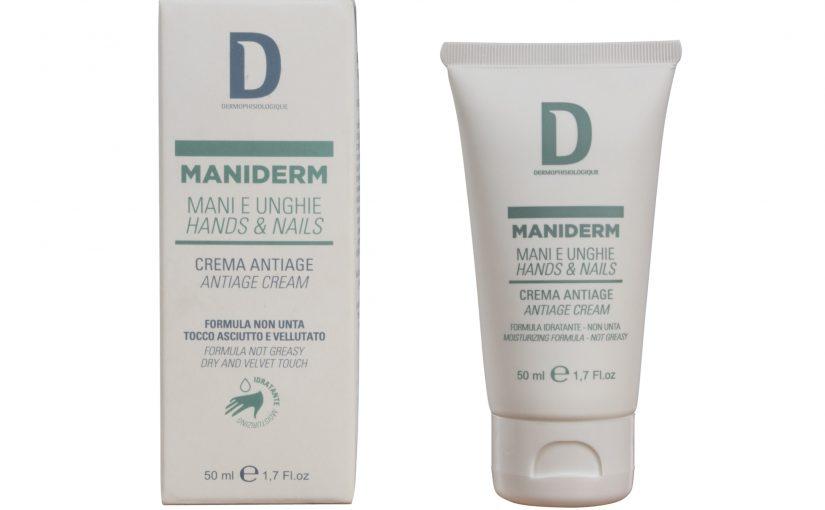 Dermophisiologique firma MANIDERM Crema Ristrutturante Mani e Unghie