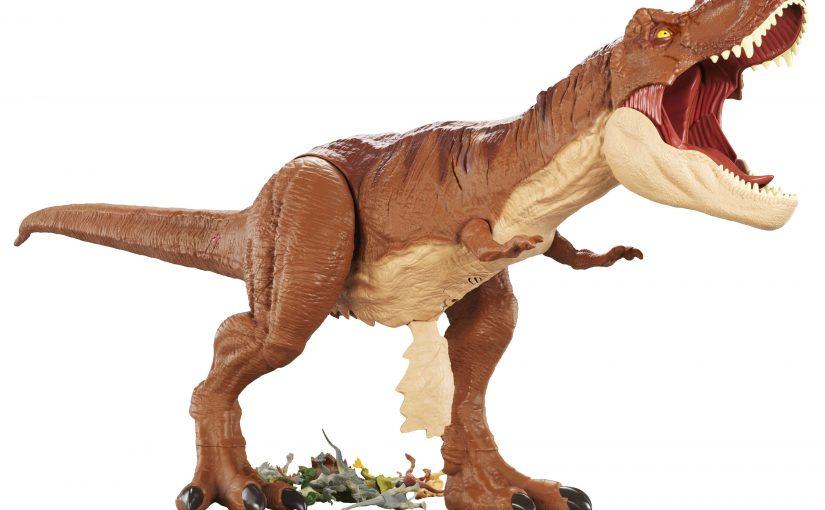 Giochi Mattel  Dal film più temibile dell'anno arrivano i ruggenti dinosauri!
