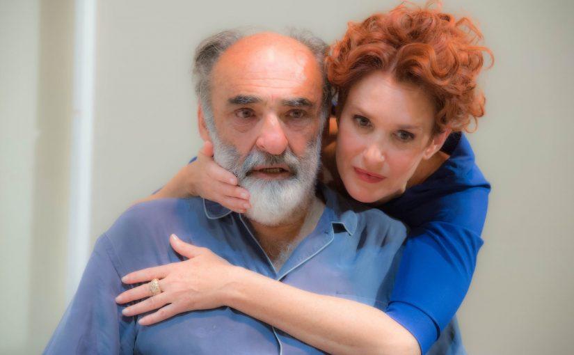 Al Teatro Manzoni di Milano IL PADRE di Florian Zeller con Alessandro Habere Lucrezia Lante della Rovere