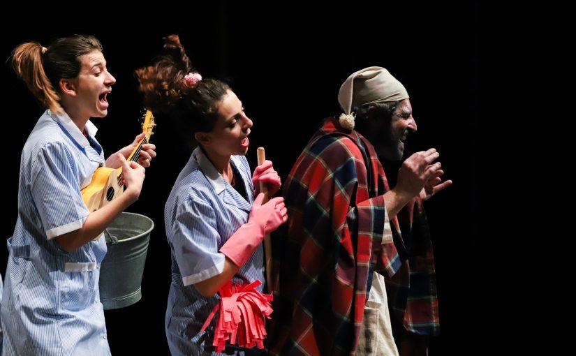 LE NUVOLE  da Aristofane al Teatro San Babila Milano