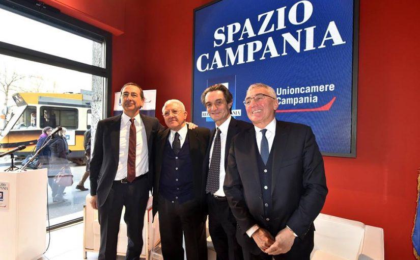 """APERTO A MILANO """"SPAZIO CAMPANIA """" L'HUB DELL'ECCELLENZA CAMPANA"""