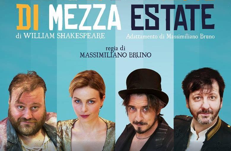 Teatro Manzoni di Milano Sogno di una notte di mezza estate di William Shakespeare