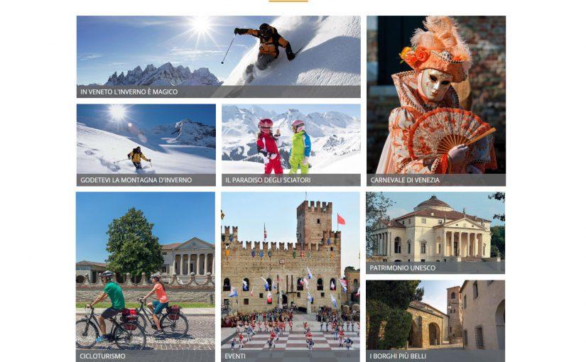 Online il nuovo portale turistico della Regione del Veneto