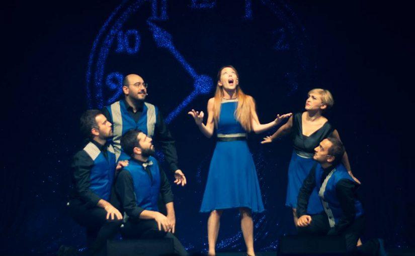 B.L.U.E.  IL MUSICAL COMPLETAMENTE IMPROVVISATO  Teatro Nuovo di Milano