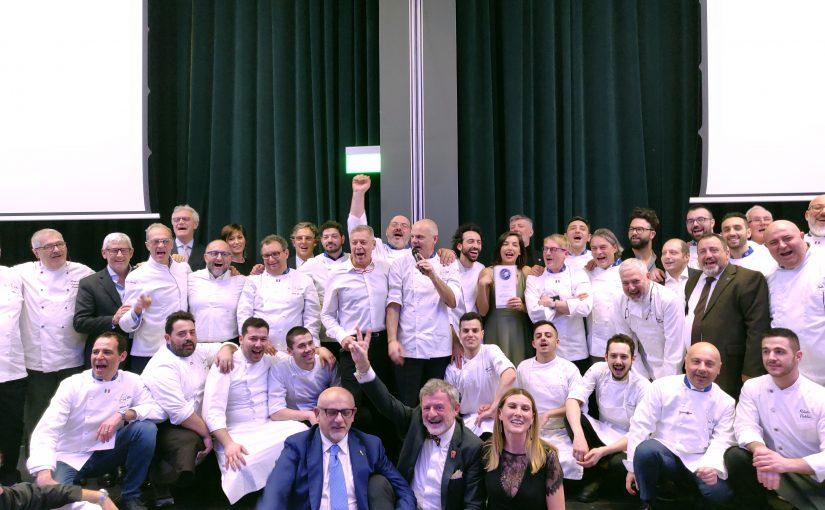 Presentazione della Guida Euro-Toques 2019 Cena di gala all'Excelsior Hotel Gallia Milano