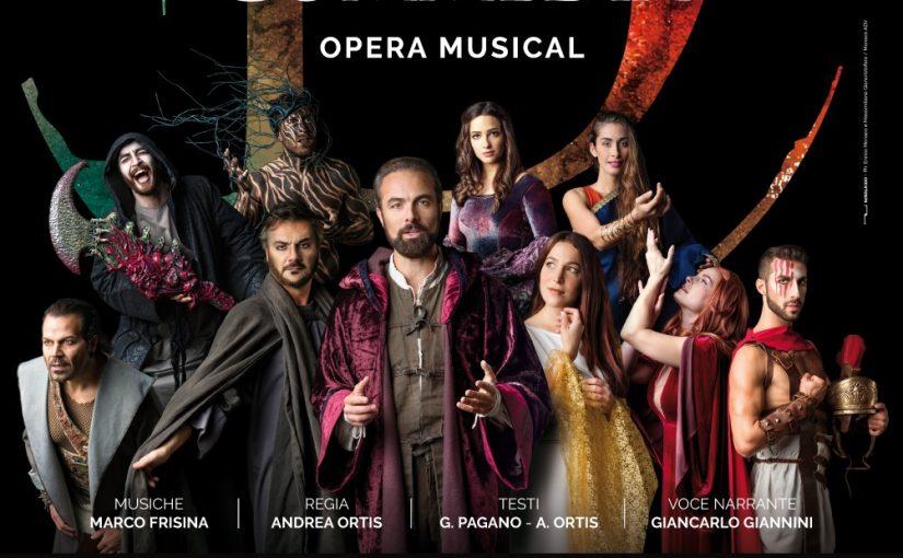 LA DIVINA COMMEDIA OPERA MUSICAL Milano Teatro Ciak