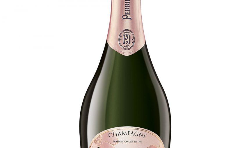 Maison Perrier-Jouët svela il nuovo look delle bottiglie di Blanc de Blancs e di  Blason Rosé