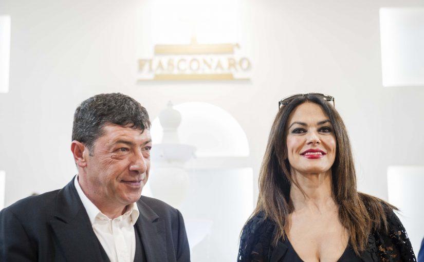LE COLOMBE FIASCONARO VOLANO A HOLLYWOOD  CON MARIA GRAZIA CUCINOTTA