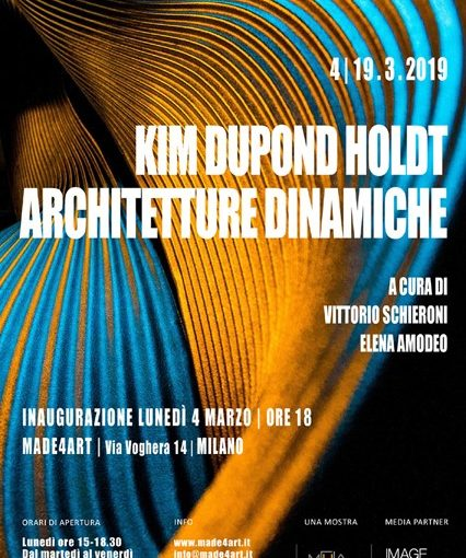 MADE4ART Kim Dupond Holdt Architetture dinamiche