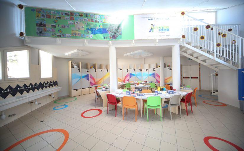 A Faenza la nuova aula creativa messa in palio da F.I.L.A. grazie al Premio GIOTTO La Matita delle Idee