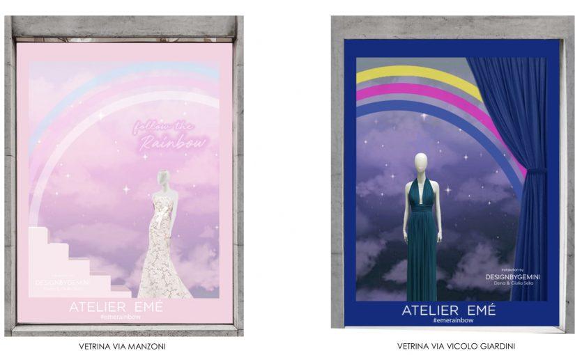 Una poetica magia arcobaleno per Atelier Emé al Salone del Mobile 2019