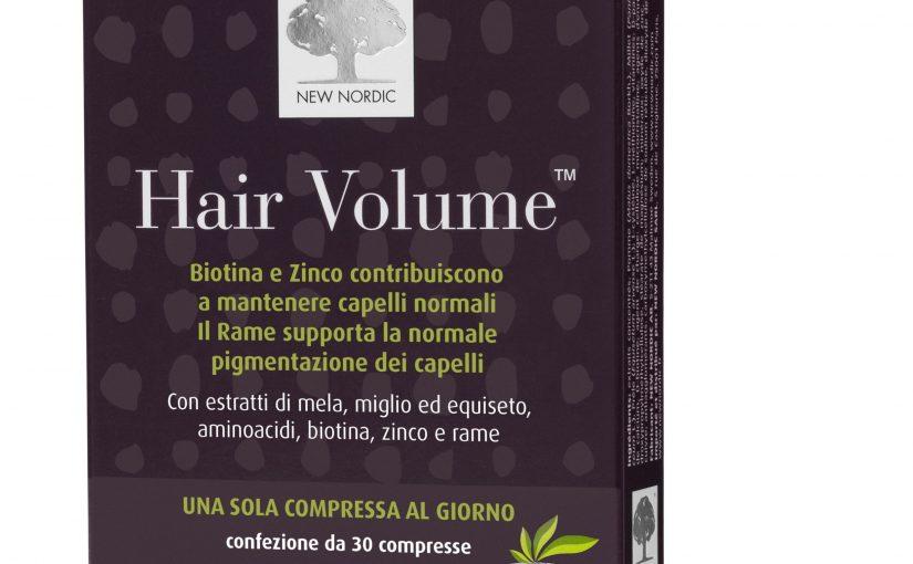 New Nordic Hair Volume la soluzione in modo naturale per la perdita dei capelli