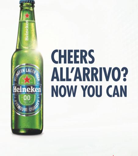 Heineken® 0.0 corre per le strade di Milano