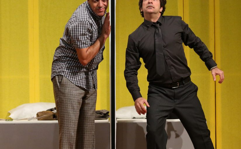 TEATRO SAN BABILA MAX PISUCLAUDIO BATTA in IL ROMPIBALLE (l'emmerdeur) di Francis Veber