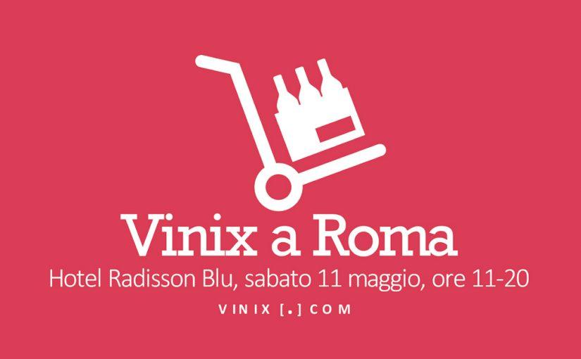 Vinix Grassroots Market sbarca a Roma