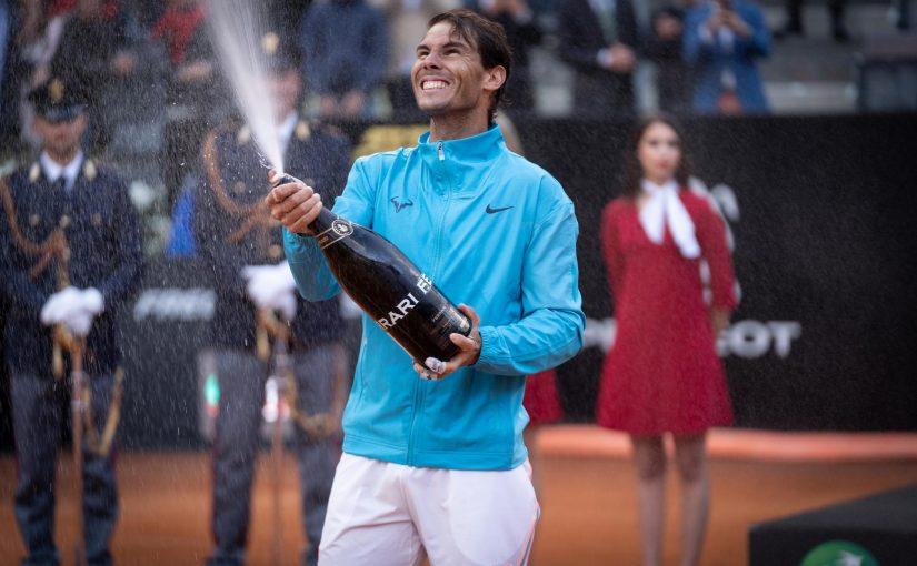 Ferraricelebra il grande tennis agli Internazionali BNL d'Italia