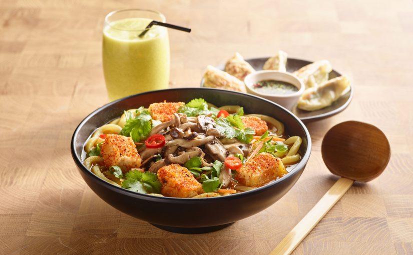 Da wagamama arrivano i menù vegetariani e vegani: una proposta sempre più ampia per rispondere ad ogni stile di vita