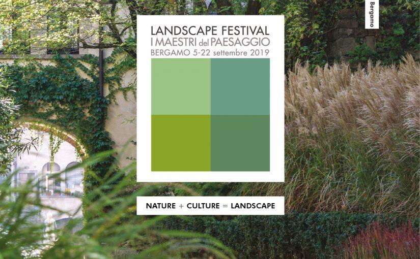 Arketipos e Comune di Bergamo presentano la nona edizione di Landscape Festival – I Maestri del Paesaggio