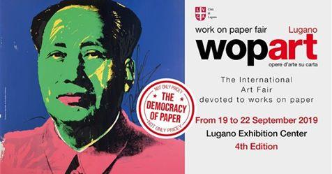 WopArt Work on Paper Fair Centro Esposizioni Lugano