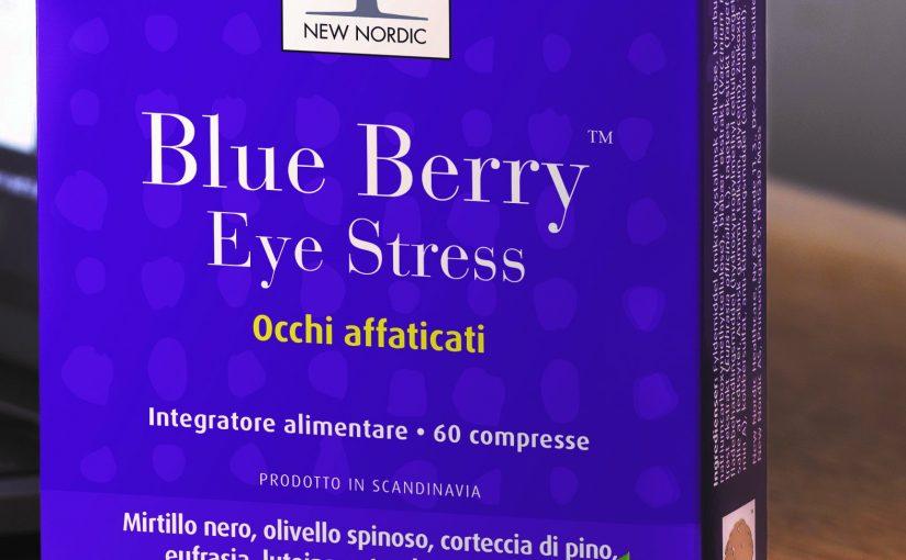 Blue Berry Eye Stress: per proteggere l'occhio dagli schermi digitali
