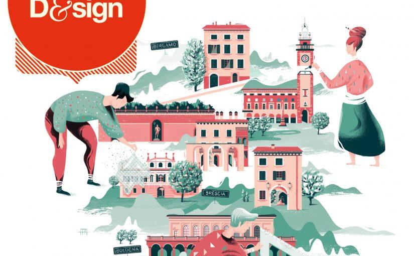 DimoreDesign 2019 a Bergamo, Brescia e Bologna.