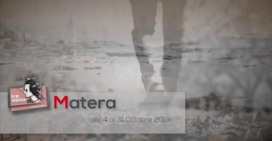 ARTE PER LE MARCHE MATERA 2019  LOGOS MUNDI
