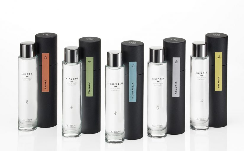 QC Terme presenta la nuova collezione oli per il corpo