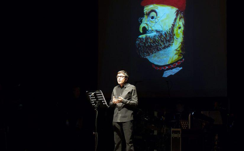 Teatro Manzoni di Milano DARIO BALLANTINI  in  DA BALLA A DALLA