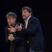 Teatro Manzoni di MilanoIL COTTO E IL CRUDO Emilio Solfrizzi e Antonio Stornaiolo