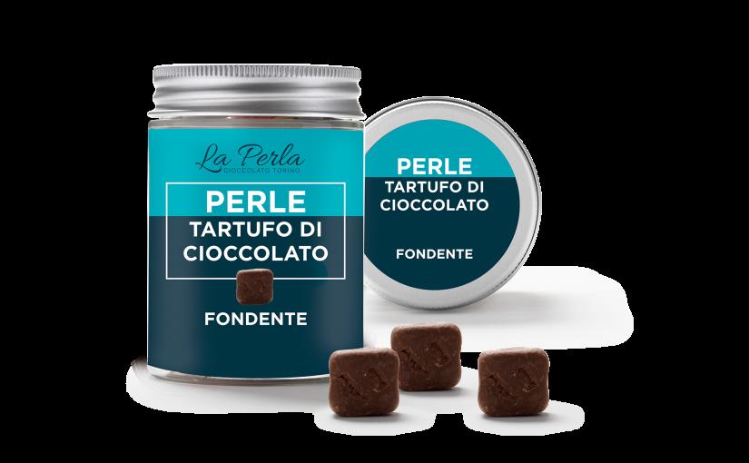 La Perla di Torino a Golosaria presenta le Perle, mini tartufi di cioccolato da gustare in un morso!