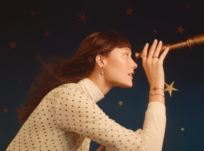 Swarovski guarda alle stelle per la sua collezione invernale #findyourluckystar