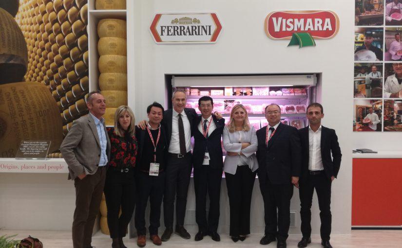 Ferrarinipunta sull'export e lancia Italianfoodphilosophy.
