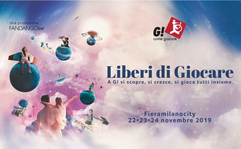 CON G! COME GIOCARE IL NATALE ARRIVA PRIMA LA 12 a EDIZIONE A FIERAMILANOCITY