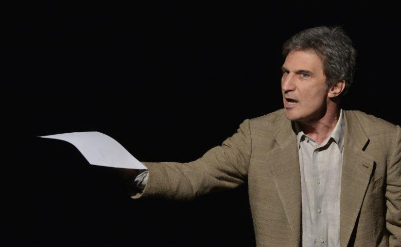Teatro Gerolamo ANDREA RENZI  in  LA NEVE DEL VESUVIO  di Raffaele La Capria