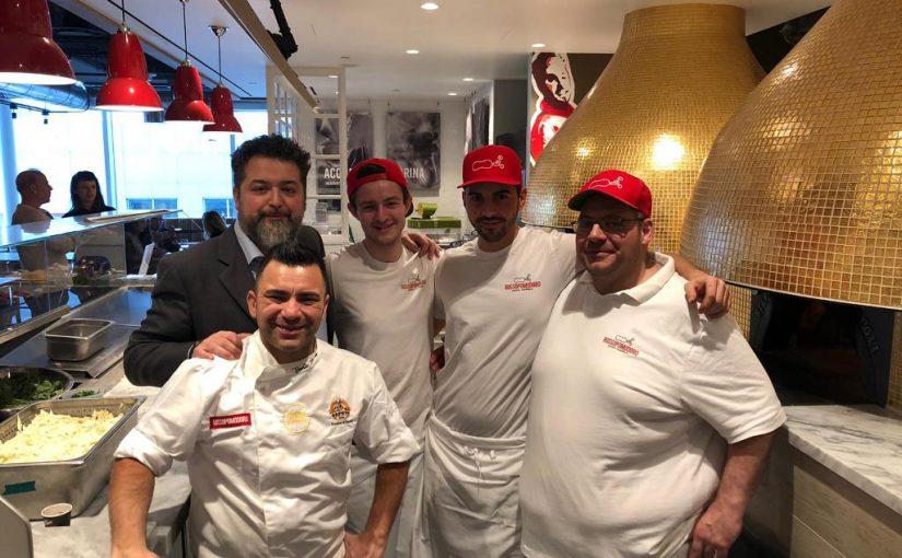 La pizza di Rossopomodoro arriva in Canada con Eataly