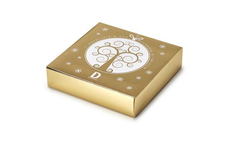 Cofanetto regalo Gold per AETERNA – Lift Anti Age la preziosa linea cosmetica firmata Dermophisiologique