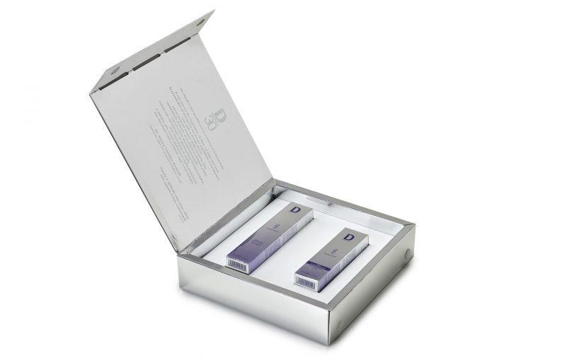 """L'elegante Cofanetto Silver racchiude la linea COEO """"FILLER EFFECT"""" di DERMOPHISIOLOGIQUE"""