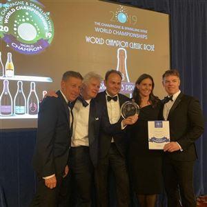 """Grande successo delle Cantine Ferrari  a """"The Champagne & Sparkling Wine World Championships"""