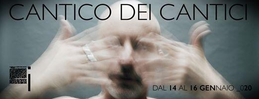 Teatro i  Milano CANTICO DEI CANTICI Roberto Latini