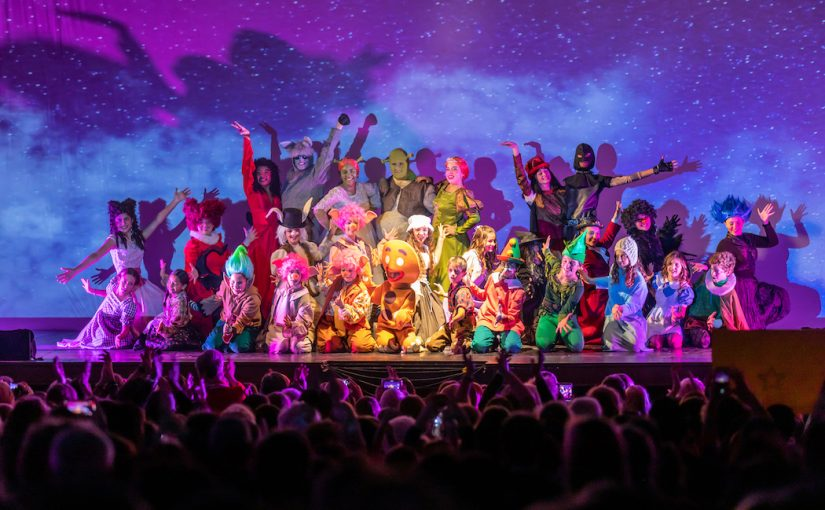 Teatro Nuovo  di Milano  Shrek the musical JR della Children's Musical School